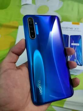 Realme XT 8GB RAM + 128GB ROM with all accessories and box