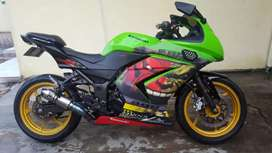 Kawasaki ninja 250 karbu