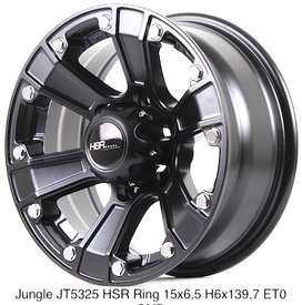 jualan JUNGLE JT5325 HSR R15X65 H6X139,7 ET0 SMB