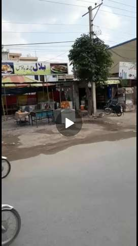 Commercial plot for sale in Main Ghouri town