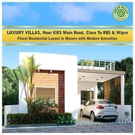 2&3 BHK luxury villas for sale in Mysore