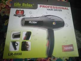 Hair dryer life relax professional