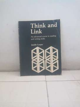 Buku Think and link an advanced course in reading and writing skills .