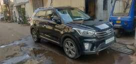 Hyundai Creta Automatic Diesel Top End 1.6SX plus. One year  insurance
