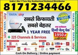 37% Off- Tata Sky DTH DishTV Tatasky Dish Videocon Airtel D2H –COD