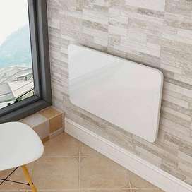 Laptop Table Wall-Mounted Desk Office Home Use