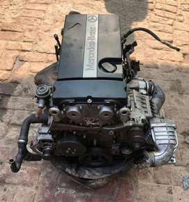 Mercedes Benz W203.W204.W209.W211.M271 Kompressor Engine With Gear