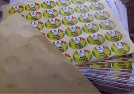 Sticker Vinyl Mirror Transparant Kaac Film One way Segel pecah telur