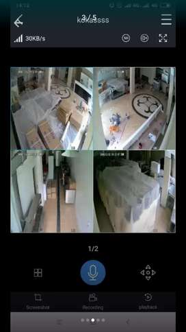 Pasang kamera cctv full hd 2mp lengkap siap pasang