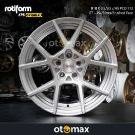 Velg Mobil Rotiform KPS Original Ring 18 Silver Brushed Face