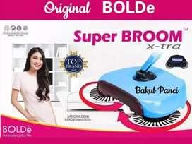 PROMO - Sapu Otomatis Super Broom X-TRA Bolde Sapu Tanpa Listrik