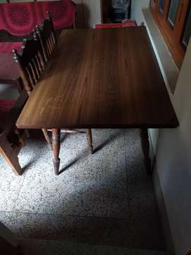 Dining table for sale of shagon
