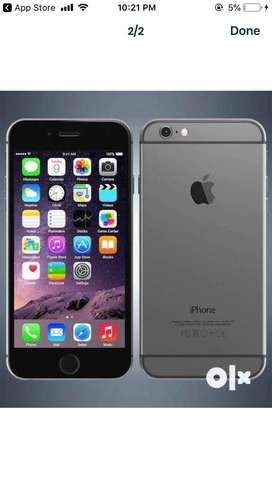 Iphone 6 32gb grey one year old