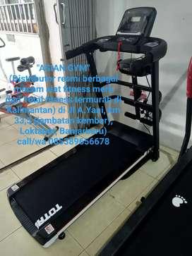 Treadmill listrik multifungsi terlaris