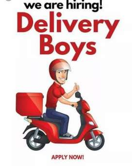 Delivery Boys Joining on the spot no interview good salary with big