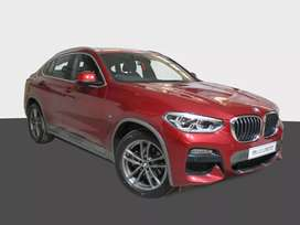 BMW x4 20d M Red