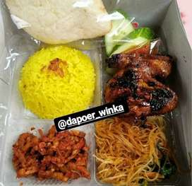 Menerima Aneka Nasi Boxs untuk acara anda (Dapoer Winka solusinya)