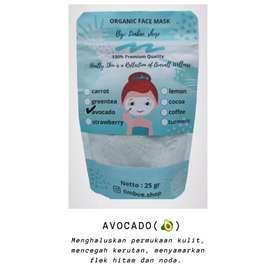 Masker organik avocado