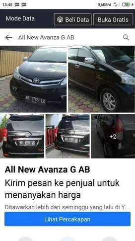 Bismillah All new Avanza G 1.3,mt, AB bantul ok