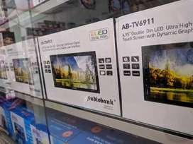 TV mobil double din Audio bank full glass dan kamera mundur
