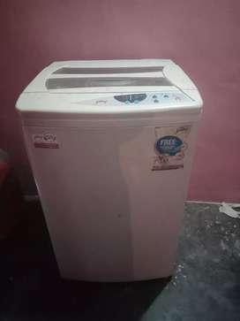 Godrej smart care washing machine