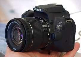 Canon 200d with single lence 18..55mm stm lence
