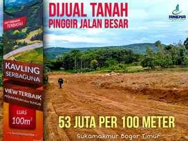 Tanah kavling murah serbaguna legalitas aman