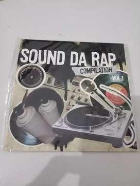 Cd kompilasi hiphop sound da rap