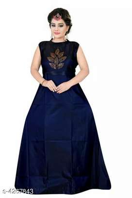 Ladies beautiful Gowns JUST ON 560Rs (MRP 699 20% OFF ON FREEDOM SALE)