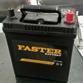 Aki mobil import korea Faster Calcium Battery gratis antar pasang