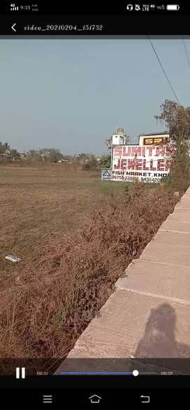 Pitapali NH site commercial plot 1100/- per sqrft