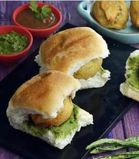 Requirement a boy for ruining vada Pav counter