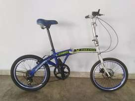 Sepeda Vivacycle Gorin 20inch 7speed Mantulll