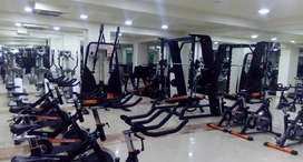 All commercial gym setup lagaye imported looking