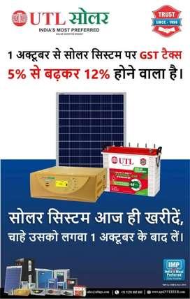 Inverter, battery & solar painal
