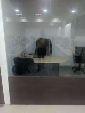 commercial office on carpet area is 550sqft.and very good locality.