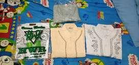 4 buah baju Koko muslim