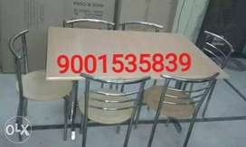 Restaurant furniture ss new table with chair