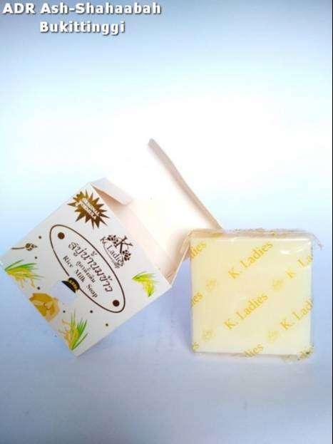 Rice Milk Soap K Ladies BPOM Sabun Beras Thailand