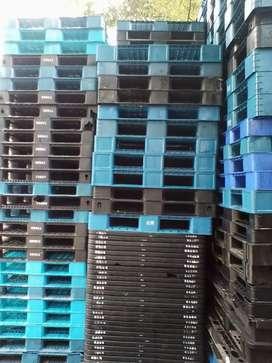Distributor pallet plastik bok dan keranjang plastik baru/bekas