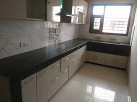 3BHK apartment with attached bathroom ,car parking and servent room