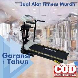 Treadmill Elektrik Total Fitness 1.5 hp TL 629 MODEL TERBARU