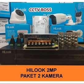 Paket lengkap kamera cctv full hd Konek ke hp area' Cilodong Depok