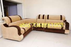KT44 corner sofa set branded color with 3 years warranty