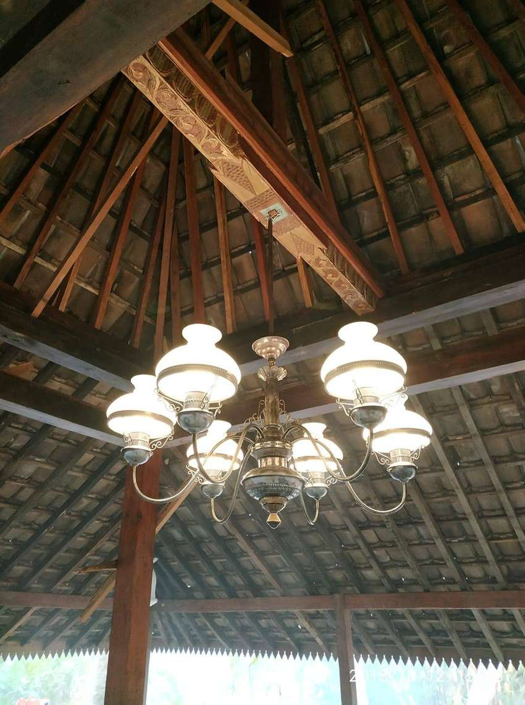 lampu gantung hias antik kuningan asli dekorasi lampu lawasan 0