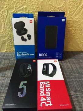 Mi Product Smart Watch 4C & 5, Earbuds, Power Bank