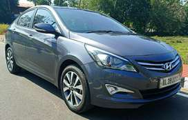 Hyundai Verna Fluidic 1.6 VTVT SX Opt Automatic, 2015, Petrol