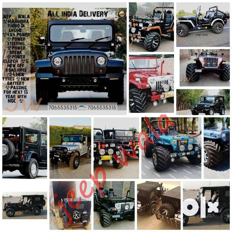 Open quality Modified Jeep Jypsy   & Thar Jeeps 0