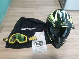 helm motorcross oneal 2