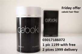 natural caboki hair fiber ingredients and offers natural-looking hair.